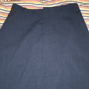 Gap navy blue skirt, long.